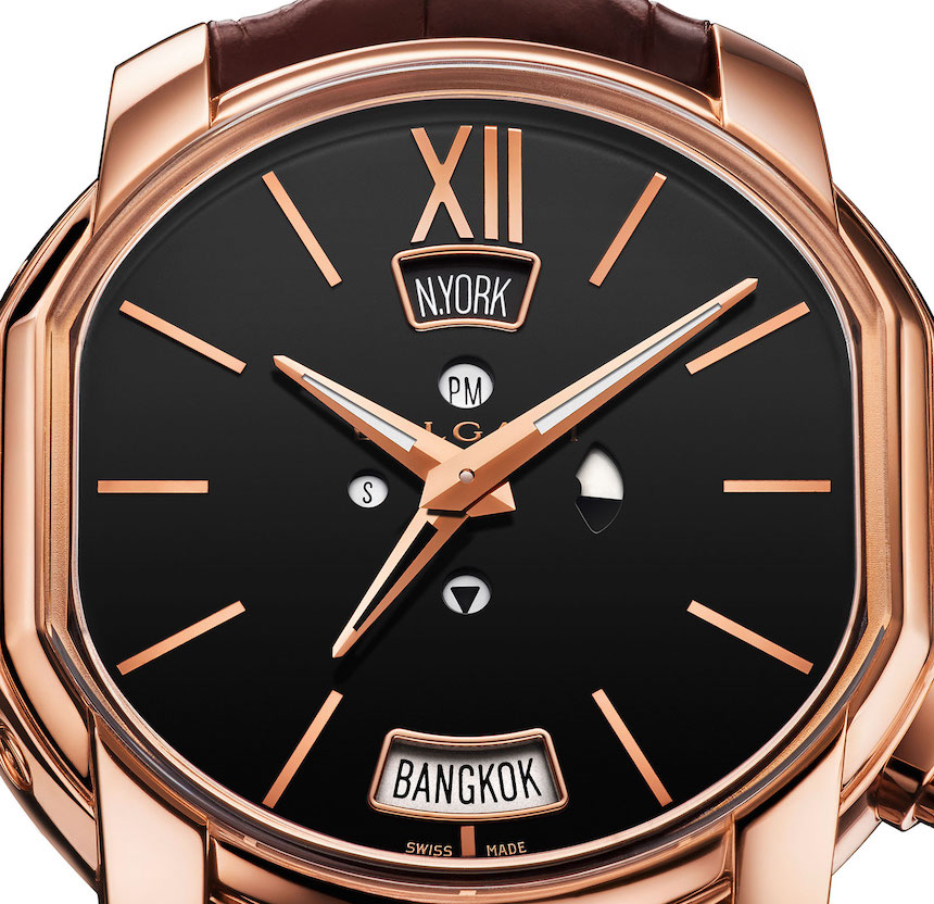 Bulgari Hora Domus Dual Time Zone Watch With Daylight Savings Adjustability Watch Releases