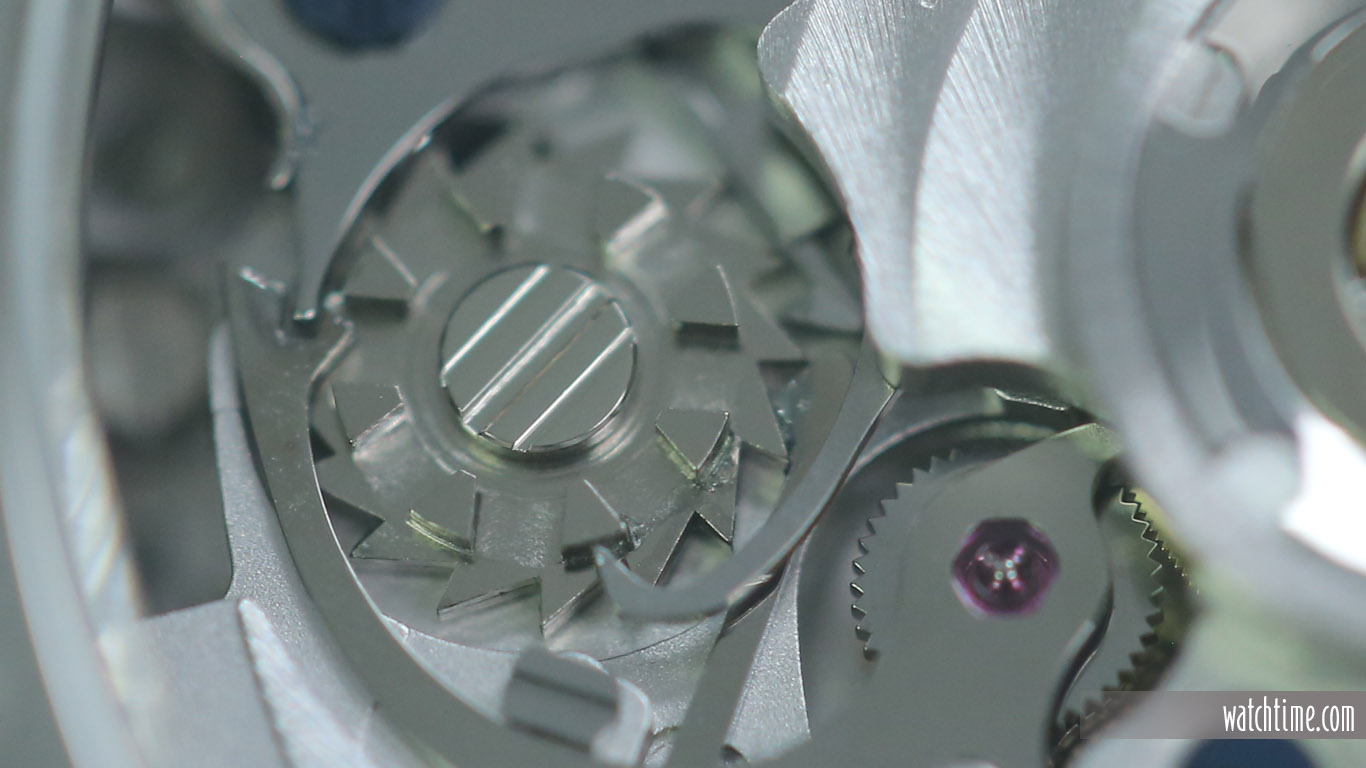 Eterna Super KonTiki Chronograph - Black Dial - Column Wheel