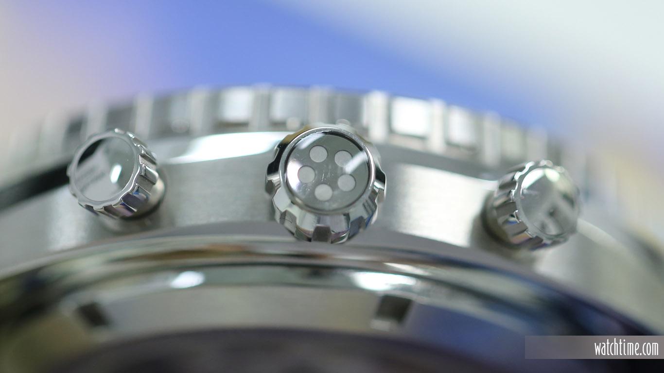 Eterna Super KonTiki Chronograph - Black Dial - Crown