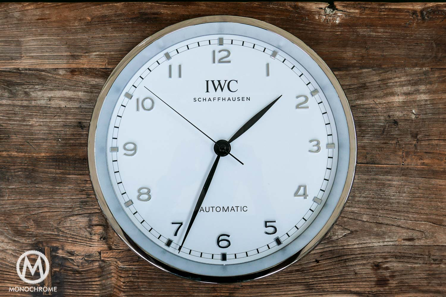 Introducing the iwc wall clock the best swiss watch fix repair iwc wall clock amipublicfo Images