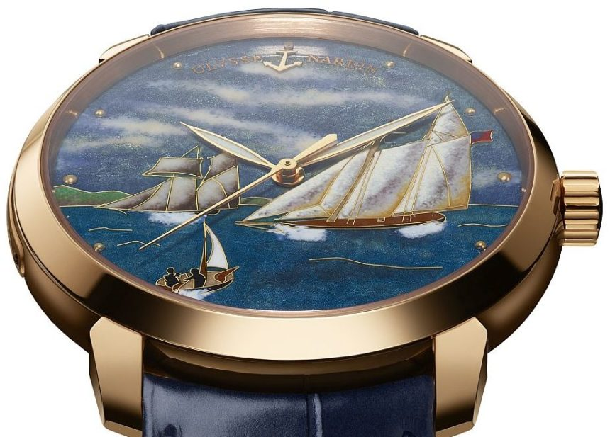 Ulysse Nardin Classico America Watch Watch Releases