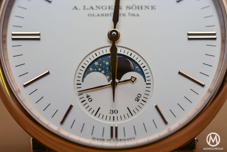 A. Lange & Söhne Saxonia Moon Phase