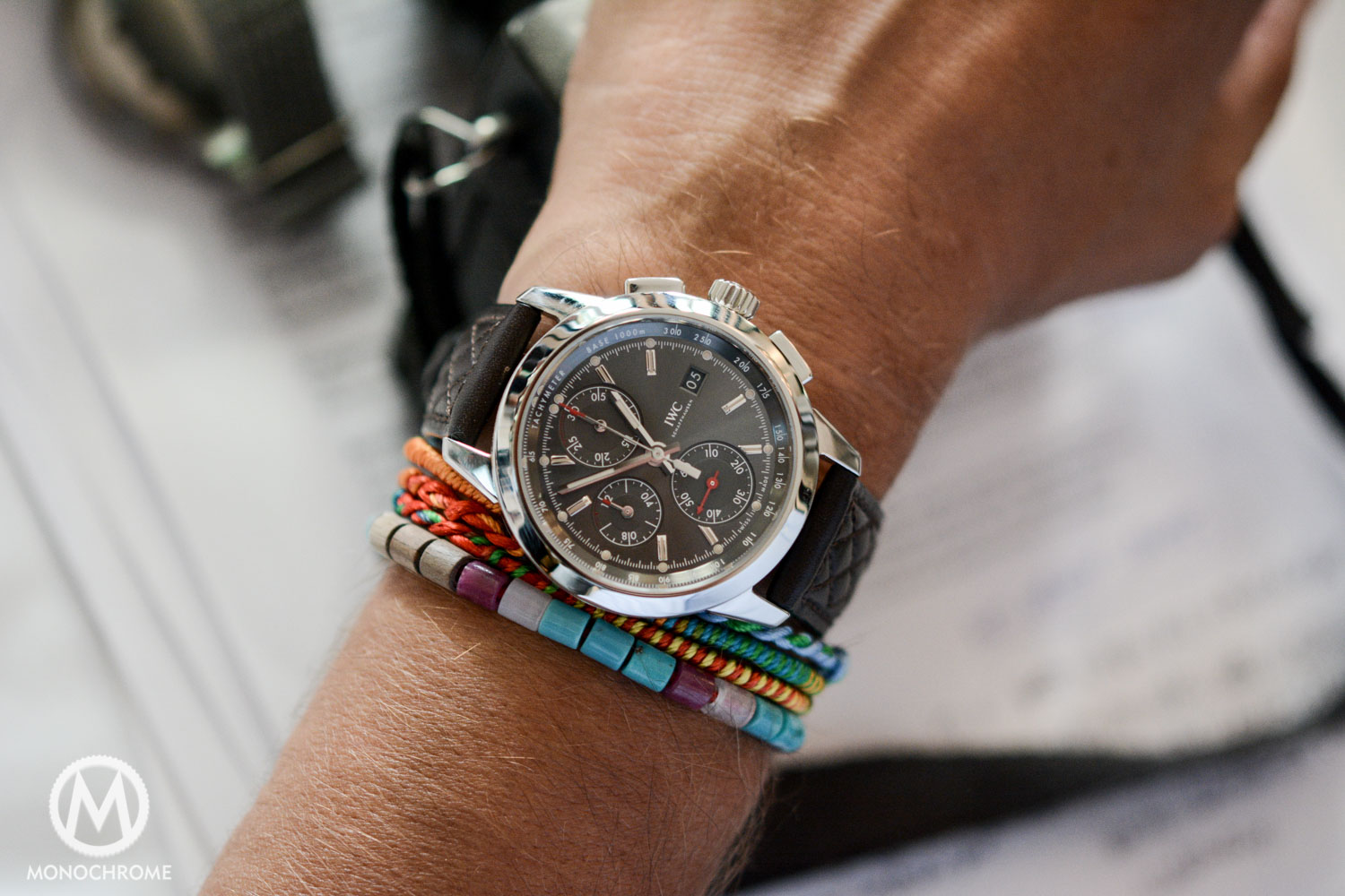 Review Iwc Ingenieur Chronograph Vintage Editions Tons