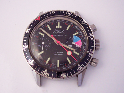 Aero Neuchatel Chronograph (Valjoux Cal. 7733)