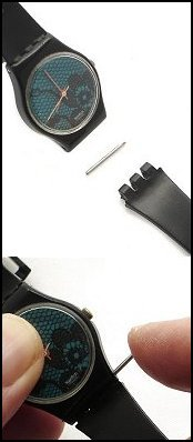 how to replace swatch watch glass