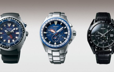 3 Seiko watches