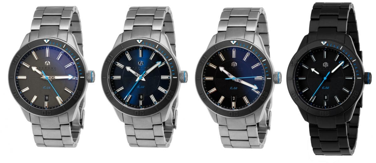 Black Manta, Blue Rorqual, Grey Shark, and Full DLC Black watches