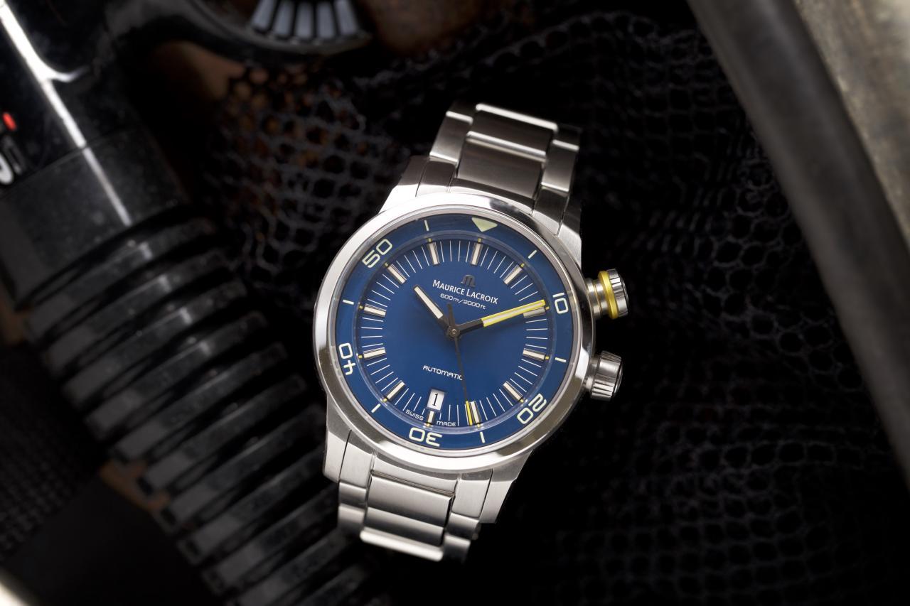 Blue Devil wristwatch