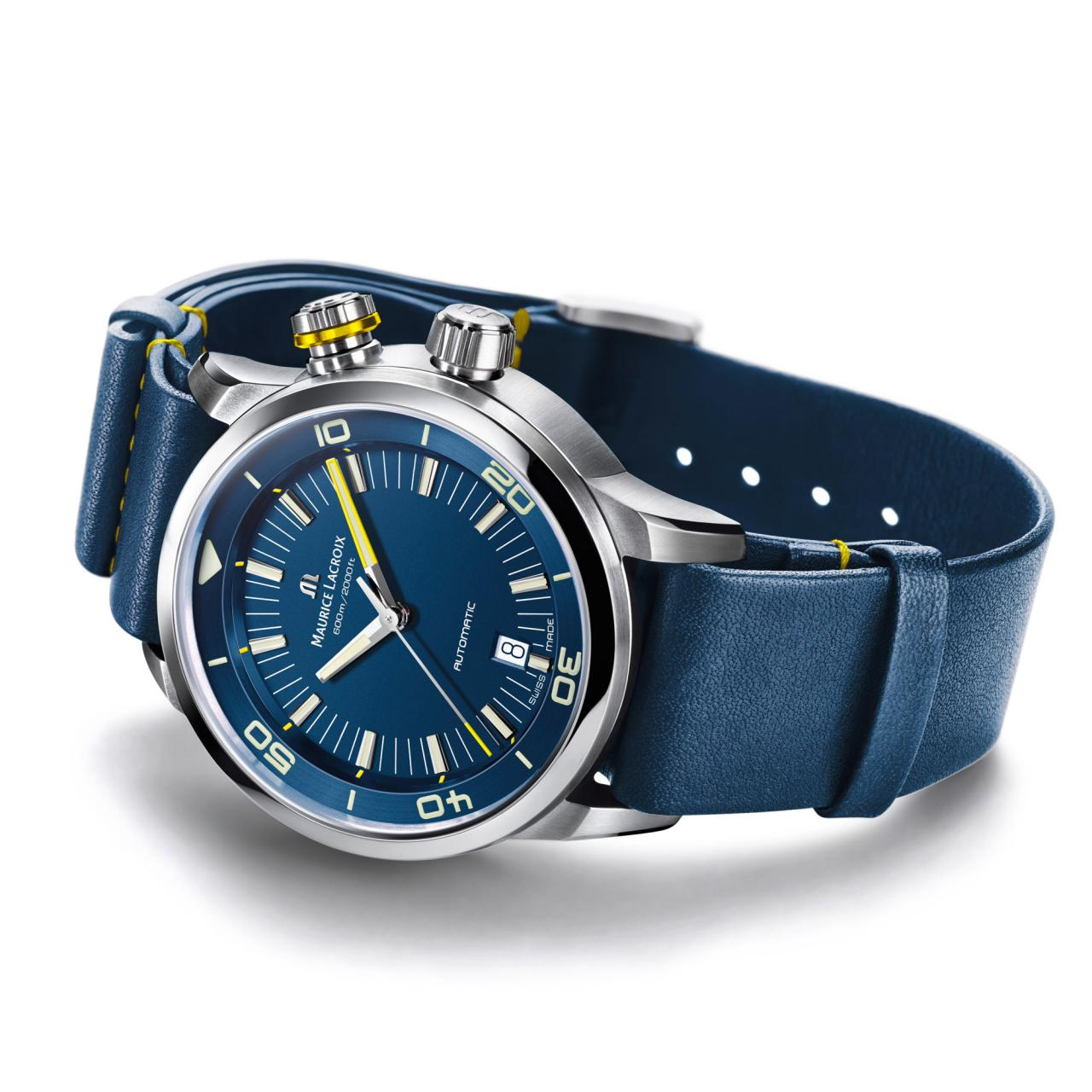 Blue Devil wristwatch blue strap