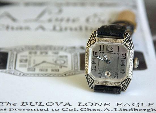 Bulova Lindbergh Lone Eagle watch