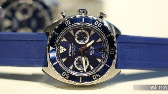 Eterna KonTiki Chronograph -Blue Dial