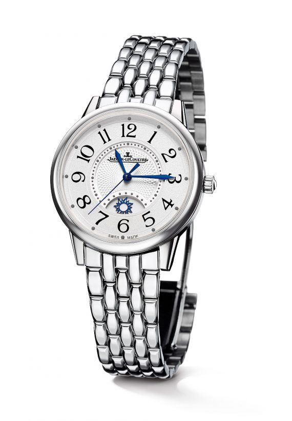 Jaeger-LeCoultre Rendez-Vous Night & Day Large, steel with bracelet