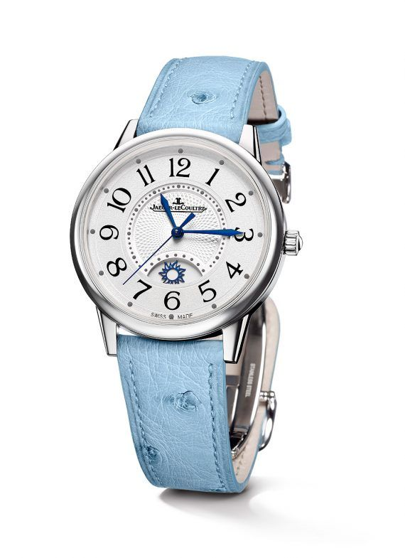 Jaeger-LeCoultre Rendez-Vous Night & Day Large – steel, ostrich leather strap