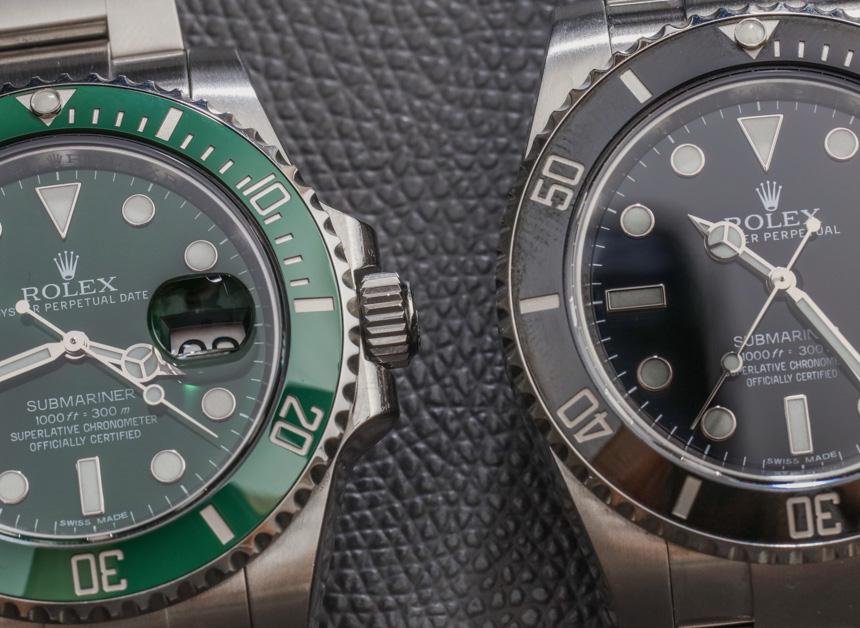Rolex Submariner 116610LV In Green Watch