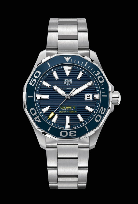 TAG Heuer Aquaracer 300M - blue dial