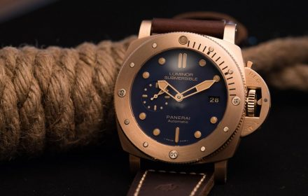Blue-Dialled Luminor Submersible PAM 00671
