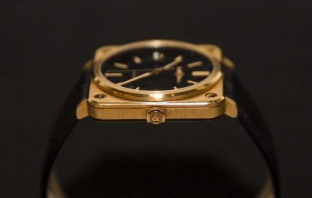 Bell & Ross BR S Rose Gold
