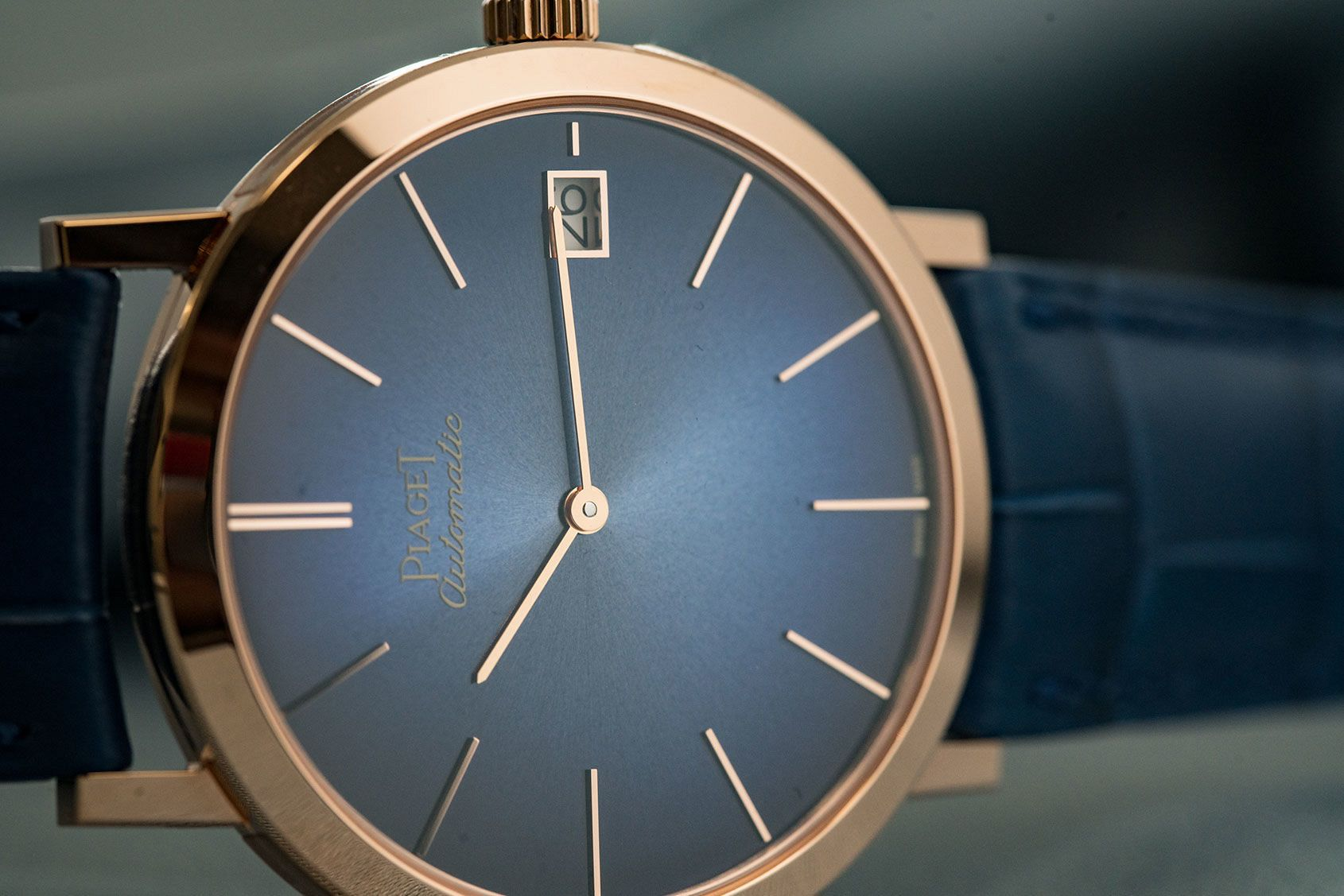 60th anniversary Altiplano in blue