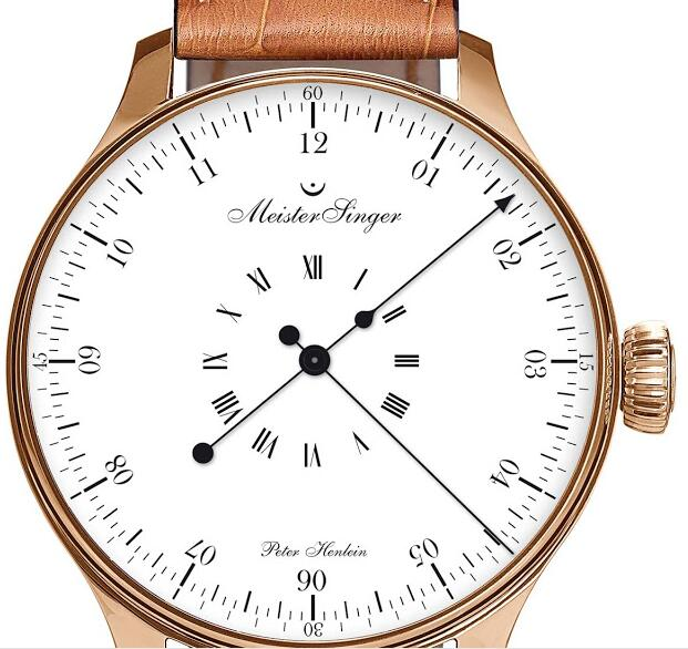 """MeisterSinger """"Peter Henlein"""" Limited Edition dial"""