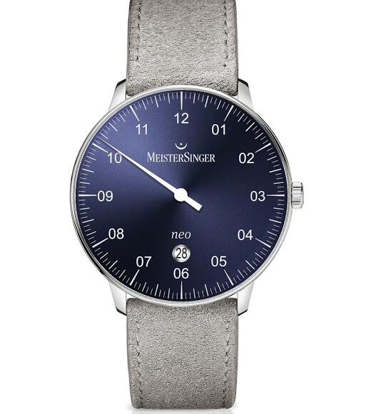 Neo Plus blue dial