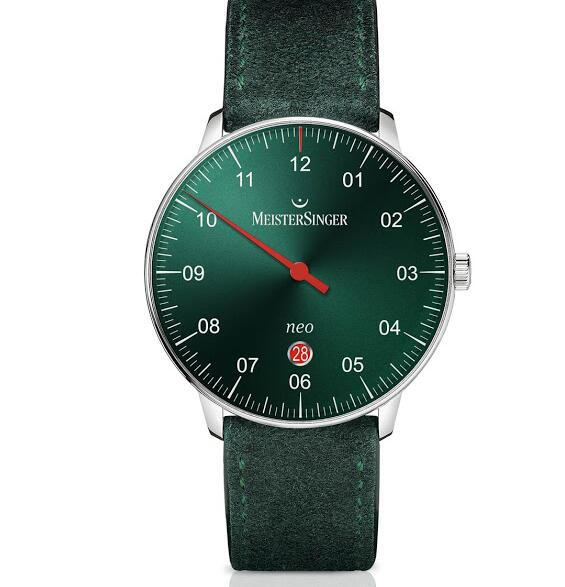 neo plus green dial