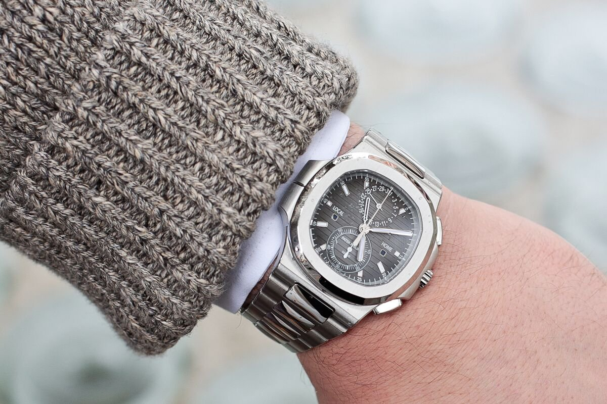 Patek Philippe Nautilus Chronograph Travel Time