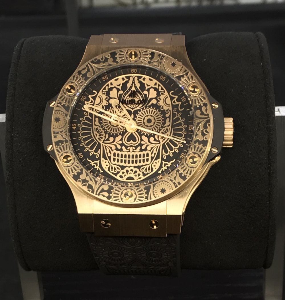 Hublot Big Bang Calavera