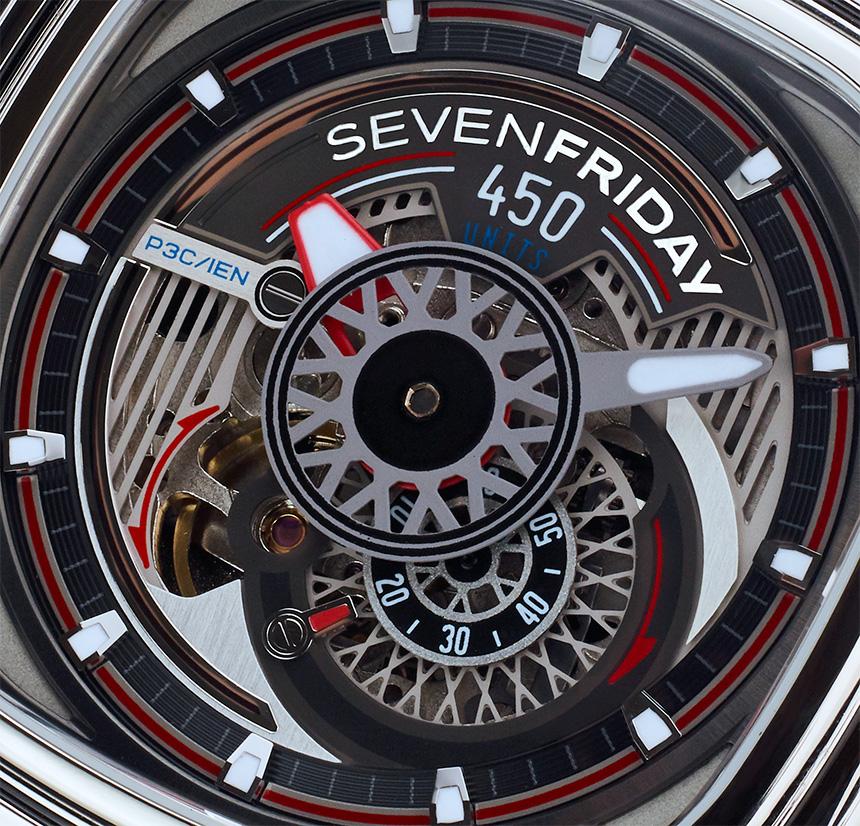 SevenFriday P3C/01 Hot Rod Watch Watch Releases