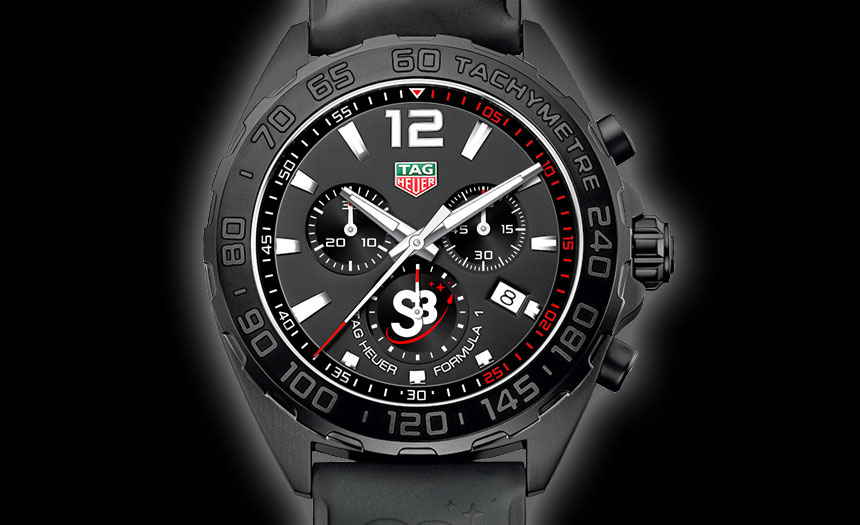 TAG Heuer Formula 1 S3 Watch Is Boarding Pass To Your Zero-Gravity Flight Watch Releases