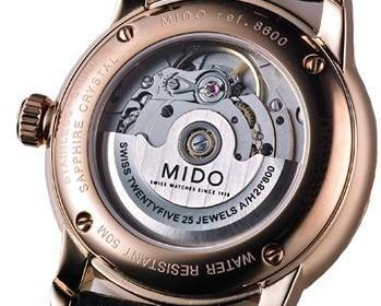 Mido Mechanical Watch Error Criterion