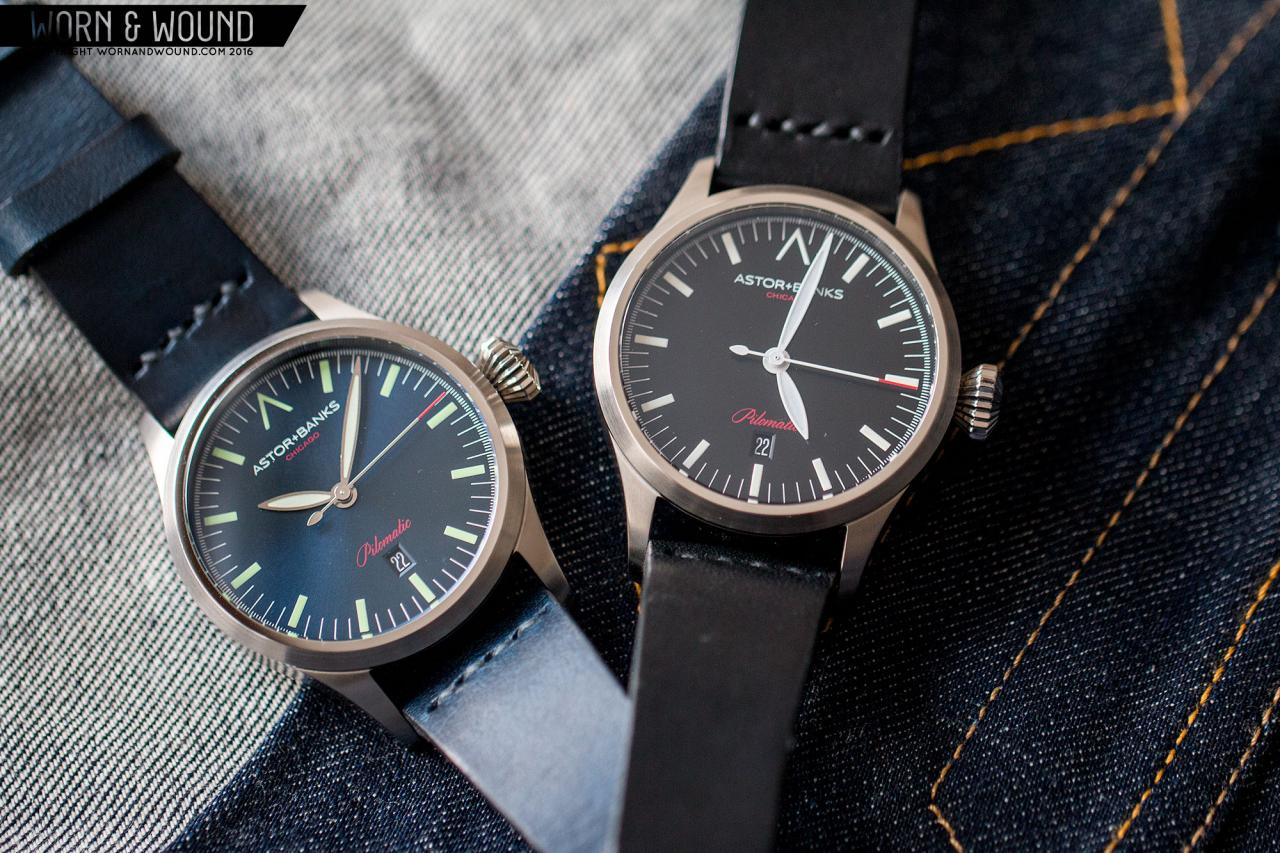 Pilomatic wristwatch