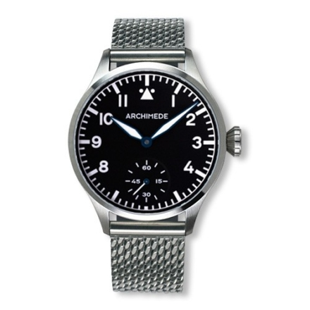Pilot 42 KS Bronze black dial watch