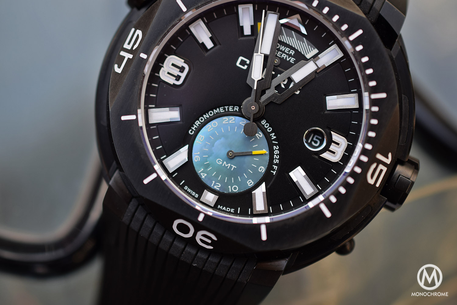 watch dial display