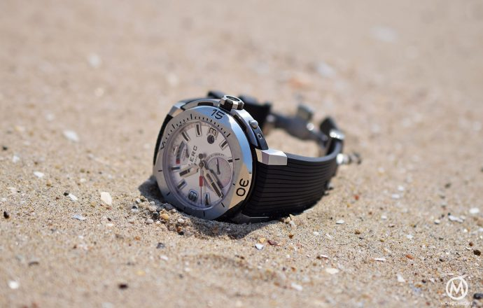 Overall appearance for Clerc dive watch