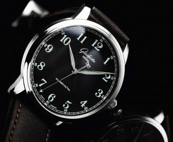 black luxury watch