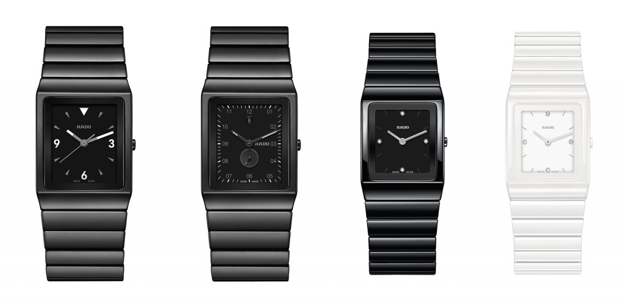 rado wrist watch black