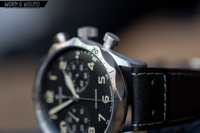 the features of the Meister Pilot watch