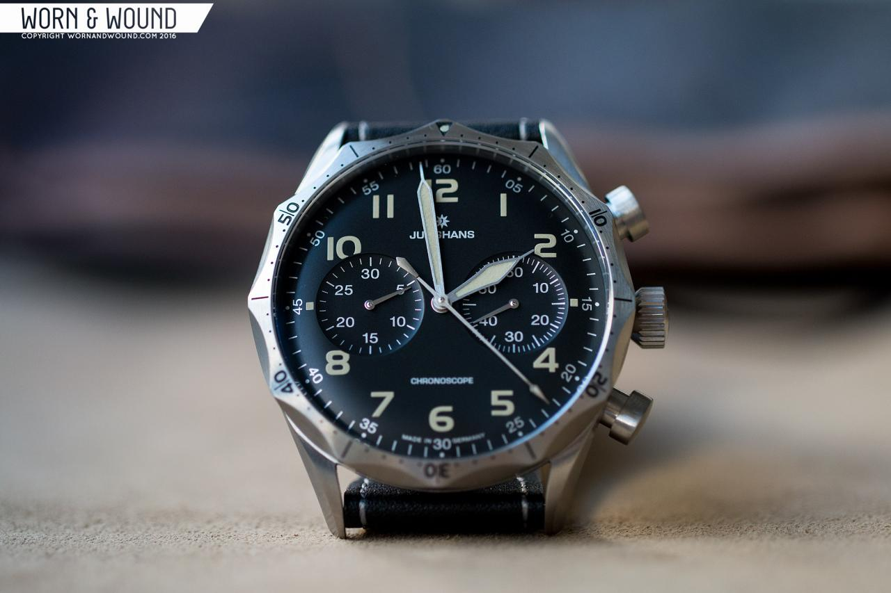 Junghans Meister Pilot Chronograph watch