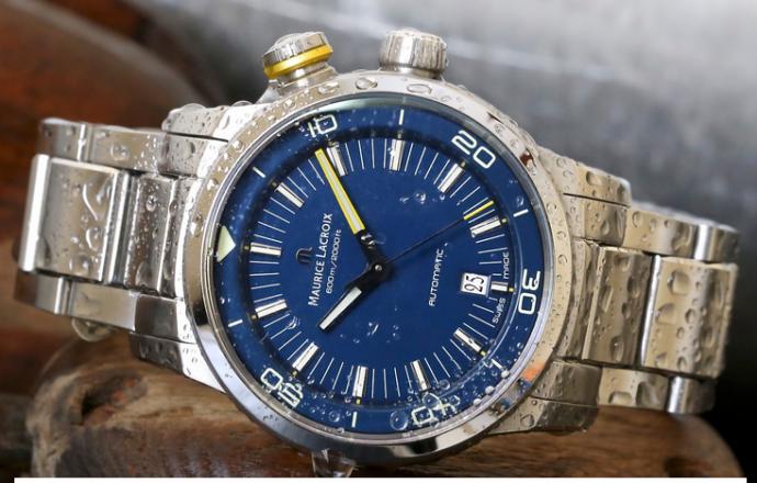 """The Maurice Lacroix Pontos S Diver """"Blue Devil"""" watch"""