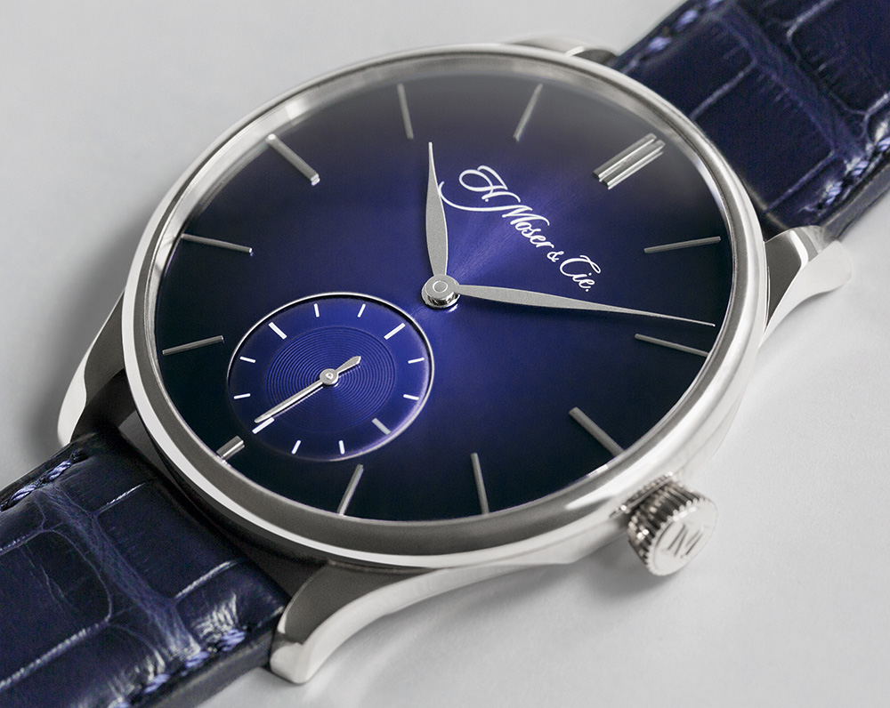H. Moser & Cie. Venturer Small Seconds XL Paramagnetic Watch Debuts New Paramagnetic Hairspring Watch
