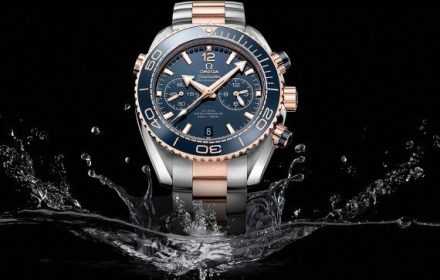 Omega Seamaster Planet Ocean Chronograph - splash