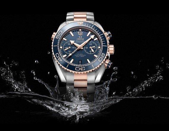 Omega Seamaster Planet Ocean Chronograph - splash