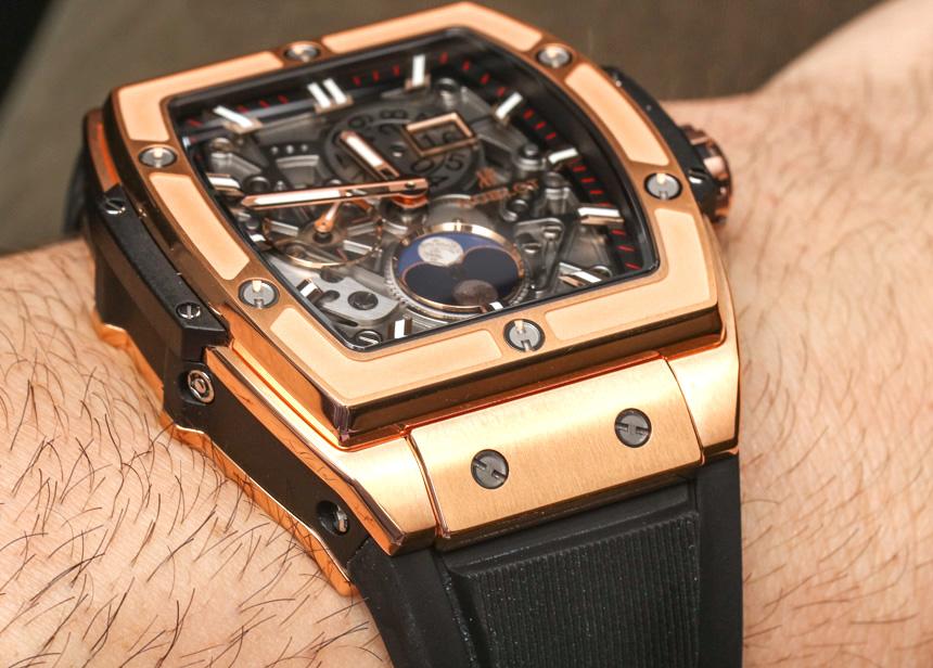 Hublot Spirit Of Big Bang Moonphase Watch on the wrist