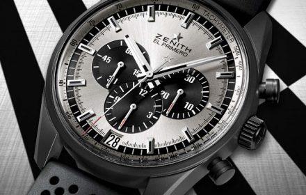 Zenith - El Primero 36'000 VpH Black and White