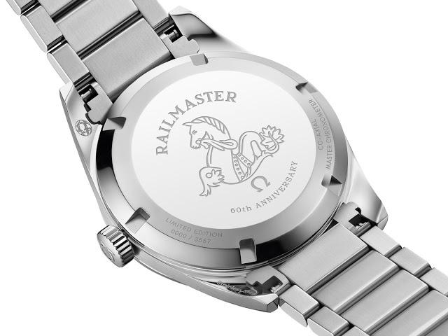 The Railmaster 60th Anniversary Limited Edition Master Chronometer 38 mm (ref. 220.10.38.20.01.002)