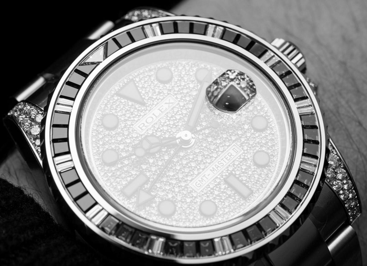 Rolex GMT-Master II 116759SARU Factory Gem-Set Watch Hands-On Hands-On