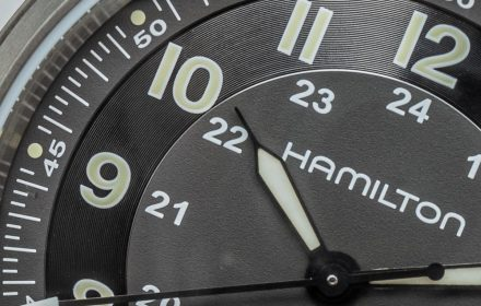 Hands-On: Hamilton Khaki Field Watch In Titanium Hands-On
