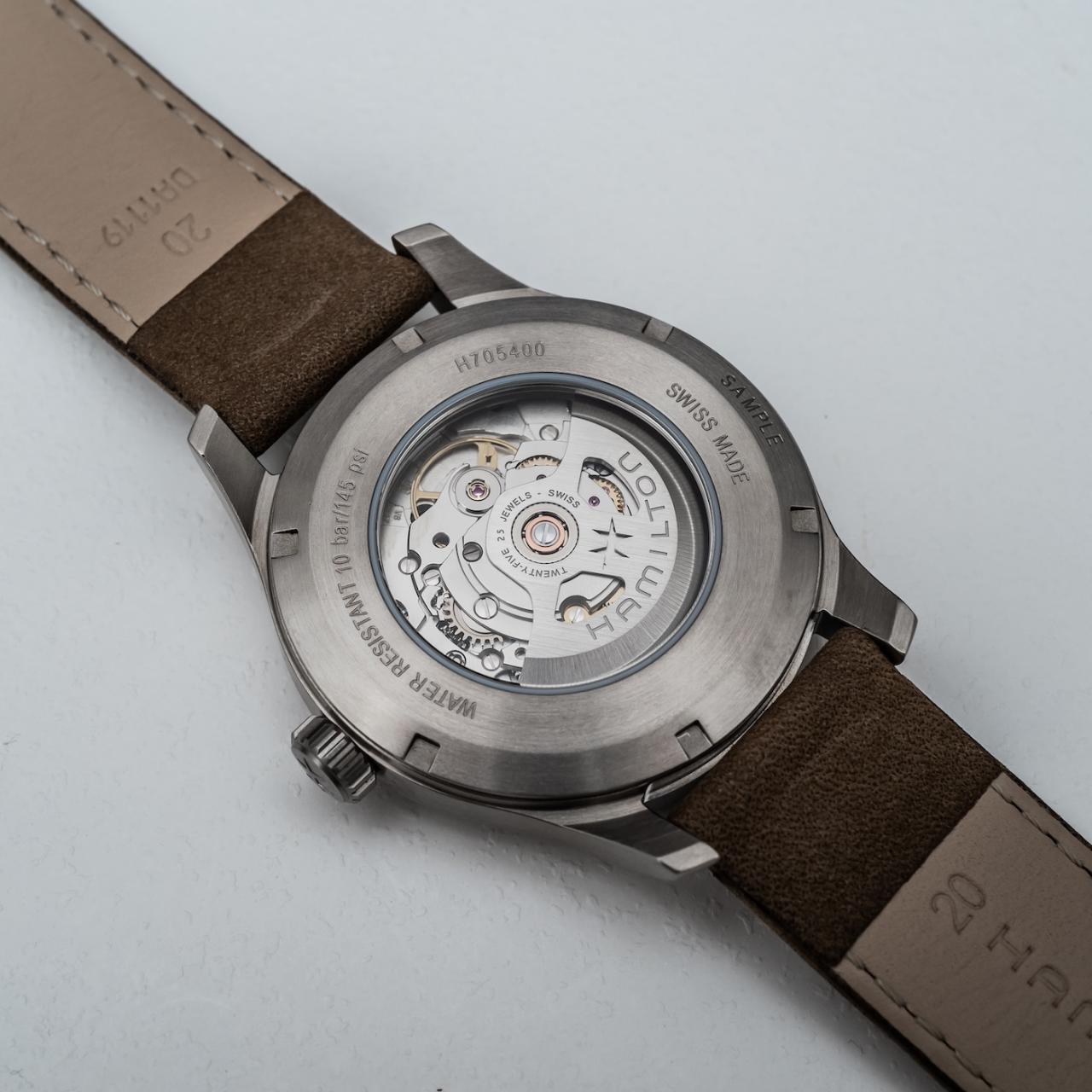 Hands-On: Hamilton Khaki Field Watch In Titanium Hands-On