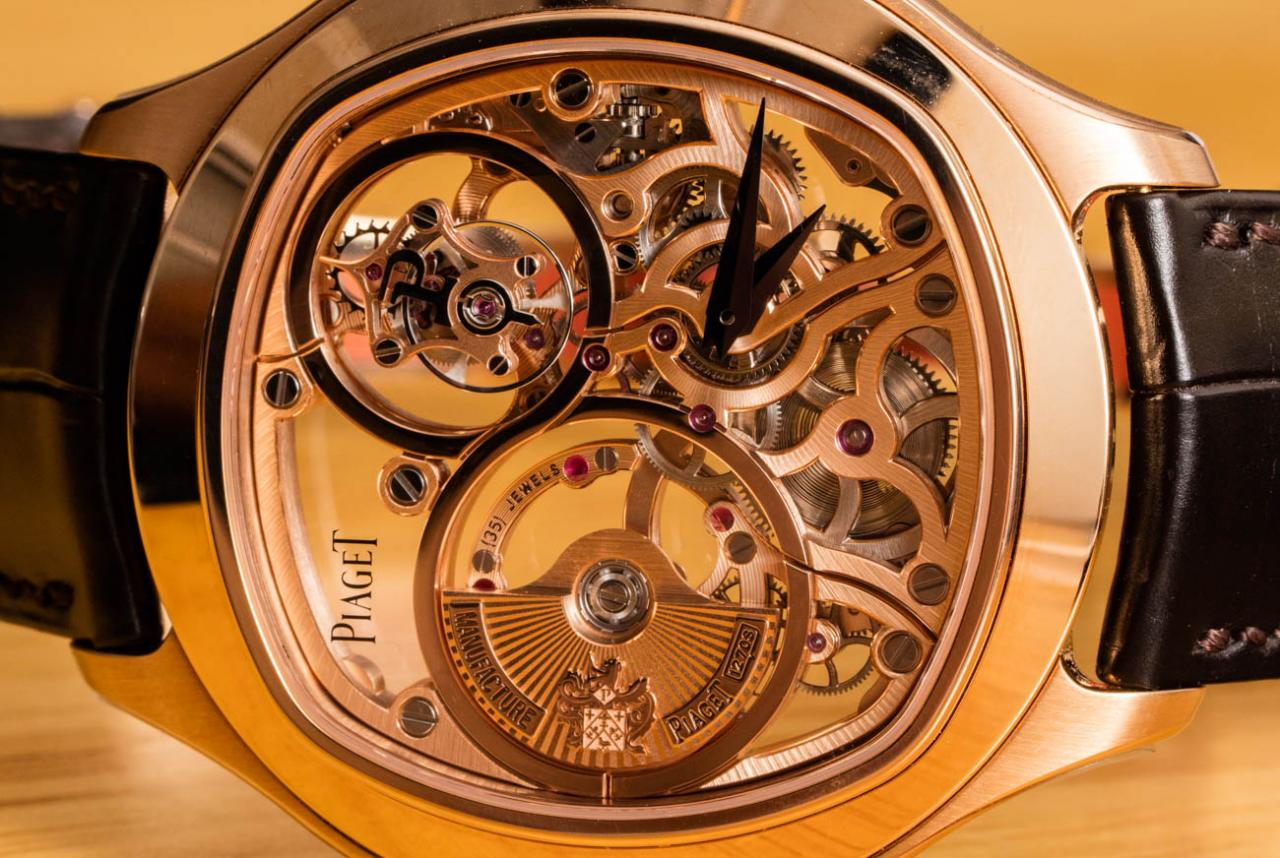 Piaget Emperador Cushion Tourbillon Skeleton Watch Revisited Hands-On