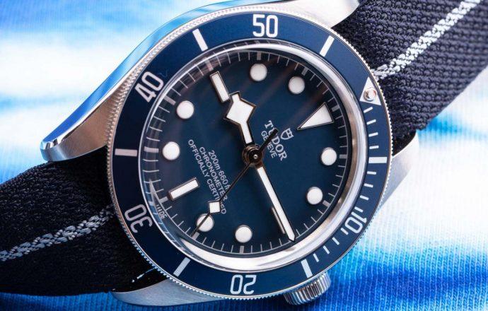 Hands-On: Tudor Black Bay Fifty Eight 'BB58' Blue Watch Hands-On Tudor